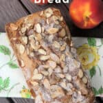 Peach Almond Bread Recipe